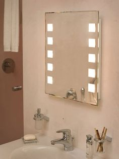 The Mirror vanity light/cabinet