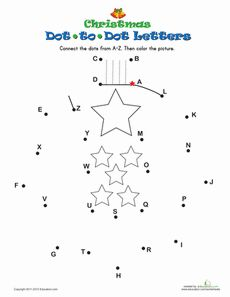 Christmas Dot-to-Dot 4 Worksheet