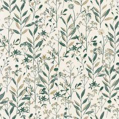 Laura by Caselio - Emerald Green : Wallpaper Direct