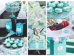 "Photo 2 of 19: Tiffany & Co, Breakfast at Tiffany's / Bridal/Wedding Shower ""Amanda & Nico are Tying the Knot"" | Catch My Party"