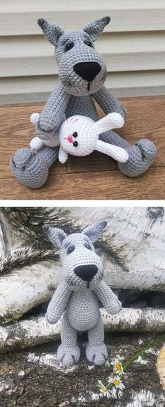 Create your own adorable wolf in just a few hours!