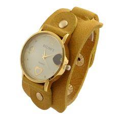 Relógio Bracelete Amarelo