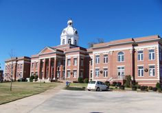Eatonton Historic District in Putnam County, Georgia.