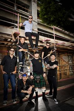 Dropkick Murphys Three times. Ranee, we wont talk about the 1st time.   ;)