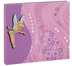 EK Success - Disney - 8x8 Album - Tinker Bell at Scrapbook.com