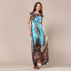 Майя женщин сексуальный шкуру леопарда шаблон платье – RUB p. 952,66