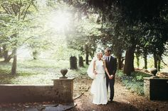 A Chic Delphine Manivet Backless Gown for a Glamorous Country House Wedding | Love My Dress® UK Wedding Blog
