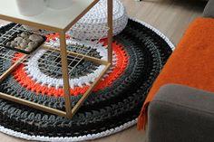 Вязаные коврики. Вязаные половички. Вязание крючком. | 3vision - Fashion blog