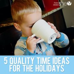 5 Quality Time Ideas For the Holidays #howdoesshe #holidayideas #holidaysforkids howdoesshe.com