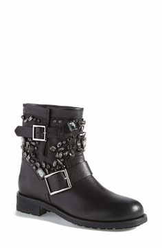 These Jimmy Choo short moto boots are hot for fall!
