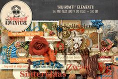 Hij Komt! Elements by On A Whimsical Adventure on Creative Market