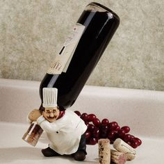 Le Chef Wine Bottle Holder