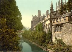 Magdalen College, Oxford University- someone once planted the seed of an idea in my head here. And bizarrely it grew.