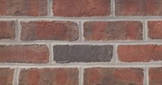 Scotch Tradition HMOS is a red handmade facebrick from the York Plant #redbrick #glengery #brickhouse #fireplace #backsplash #brick