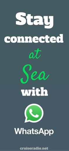 WhatsApp #cruise #travel #wifi #internet #traveltips #whatsapp #cruising