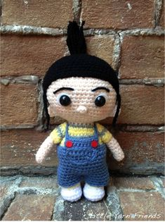 Mesmerizing Crochet an Amigurumi Rabbit Ideas. Lovely Crochet an Amigurumi Rabbit Ideas. Cute Crochet, Crochet For Kids, Crochet Crafts, Yarn Crafts, Crochet Baby, Crochet Projects, Diy Crafts, Minion Crochet, Crochet Patterns Amigurumi