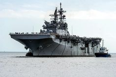 The America-class amphibious assault ships class) of the U.S. Navy are designed to put ashore a Marine Expeditionary Unit using helicopters and MV-22B Osprey V/STOL transport aircraft, supported by AV-8B Harrier II or F-35 Lightning II V/STOL aircraft and various attack helicopters. The first of these warships was commissioned by the U.S. Navy in 2014 to replace the USSPeleliu of the Tarawa-class amphibious assault ships; as many as eleven will be built.[3] The design of the America class…