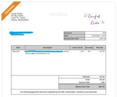 FreshBooks Invoice Example