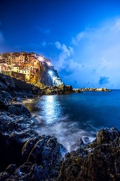 Manarola Moonlight - Italy