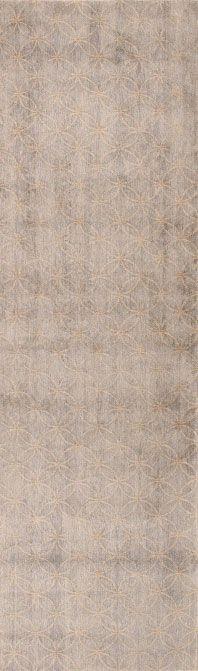 Interlocking Circles Runner | Matka Silk | Luxury Handmade Sustainable Contemporary Carpets & Rugs reviving ancient techniques | carinilang.com