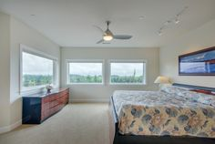 Master suite with views. Designed and built by Quail Homes of Vancouver Washington.