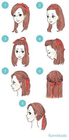 Fita no cabelo! <3