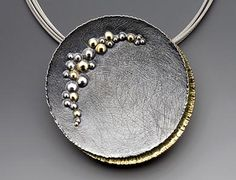 Davide Bigazzi -  jewelry designer was at Scottsdale Art Fest - 'Eclisse' Collection - absolutely gorgeous.