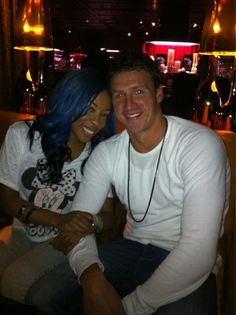 K Michelle And Ryan Lochte athletics and w...