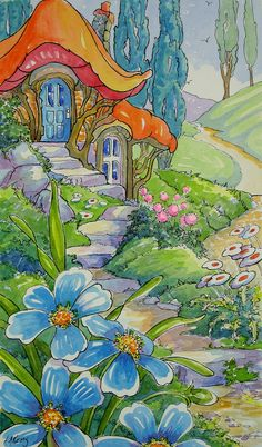 A Little Cottage Garden