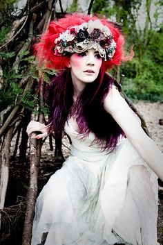 headpiece by Her Curious Nature, photo by Gemma Hall, styling by me