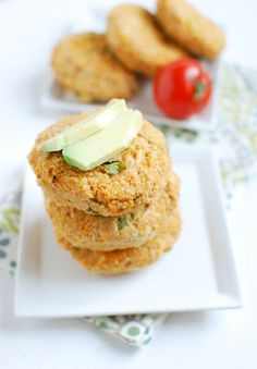 The tuna quinoa cakes are a great way to add some extra protein to your day. Eat them plain, put them on a bun or use them to top your salad for a healthy lunch or dinner!