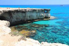 Cuevas cerca de Ayia Napa, Chipre.
