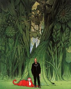 The Metabarons  Art by Moebius O, Merciful Heaves!