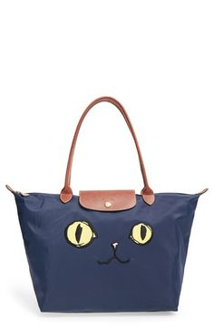 Longchamp'LargeLe PliageMiaou' Tote available at #Nordstrom. Currently sold out!