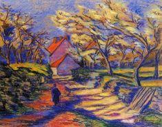Armand Guillaumin Quai de Bercy 2 - French Impressionist Oil ...