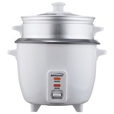 Range Kleen Brentwood Rice Cooker with Steamer Size: