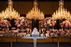 Decoração contemporânea para casamento na Casa Petra - Constance Zahn | Casamentos