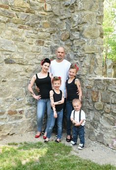 #Rockabilly, #pinup, #photo, #family