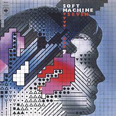 Soft Machine, Seven, okładka Rosław Szaybo