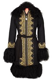 Moscow Coat by Manoush