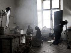 Three lighting setups from IDA, directed by Pawel Pawlikowski, with cinematography by Lukasz Zal, PSC. [ cinematography - lighting - IDA ]