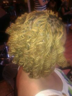 Curly locs..doing when I get home...tomorrow
