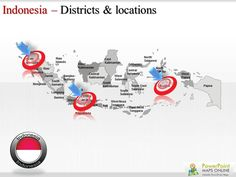 #Indonesia #Map #ppt Order now!!!!http://http://www.powerpointmapsonline.com/powerpointmaps.aspx/Map-of-Indonesia-213