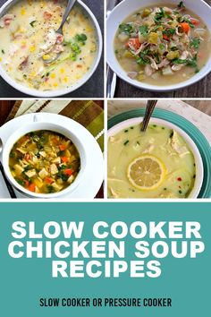 Slow Cooker Casserole, Slow Cooker Soup, Slow Cooker Chicken, Slow Cooker Recipes, Best Soup Recipes, Chicken Soup Recipes, Chili Recipes, Turkey Recipes, Clean Eating Salads