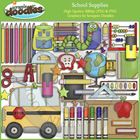 Our School Supplies collection includes all the images shown in the sample picture (61 images)  Graphics come in JPEG and PNG format 300 dpi format...