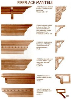 Fireplace Mantels Shelves Plans