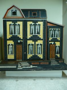 Antique Dolls Houses, very detailed and great colors.  .....Rick Maccione-Dollhouse Builder www.dollhousemansions.com