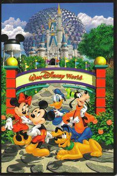 Disney Cruise Postcards | Walt Disney World postcard