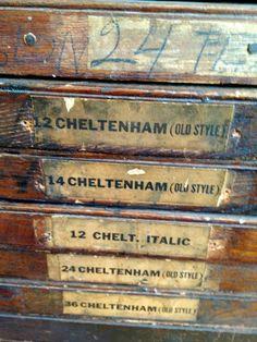 Letterpress workshop and shots I captured from around the shop. #letterpress #woodtype
