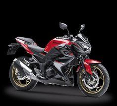 Kawasaki Motor Indonesia has updated the Kawasaki ABS with new Red colour in Indonesia. The bike costs IDR Kawasaki Motorcycles, Cars And Motorcycles, Kawasaki Ninja, Motorbikes, Honda, Automobile, Product Launch, Vehicles, Showroom